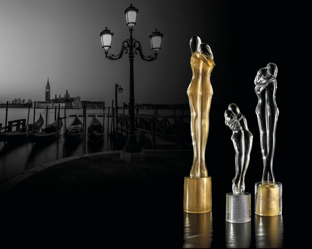 Amanti oro - Amanti trasparente argento - Amanti trasparente oro