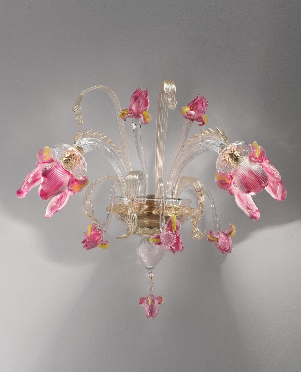 Iris-A2-trasparente-decoro-oro-e-pasta-rosa