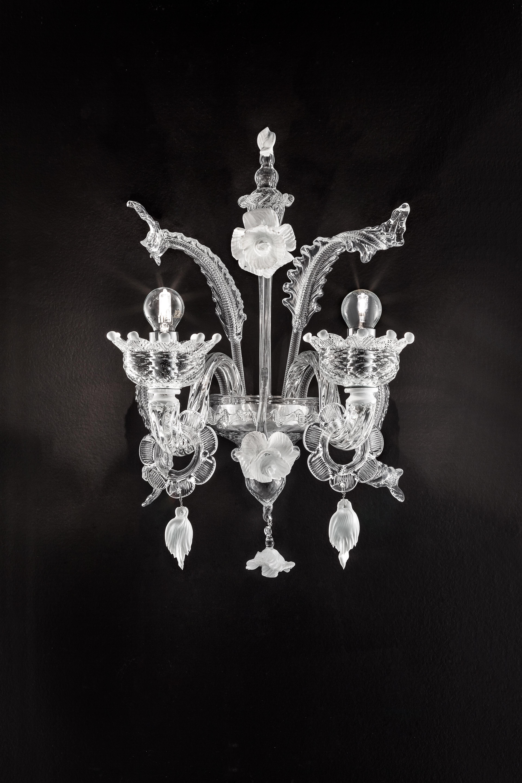 Biancaneve-A2F trasparente decoro bianco