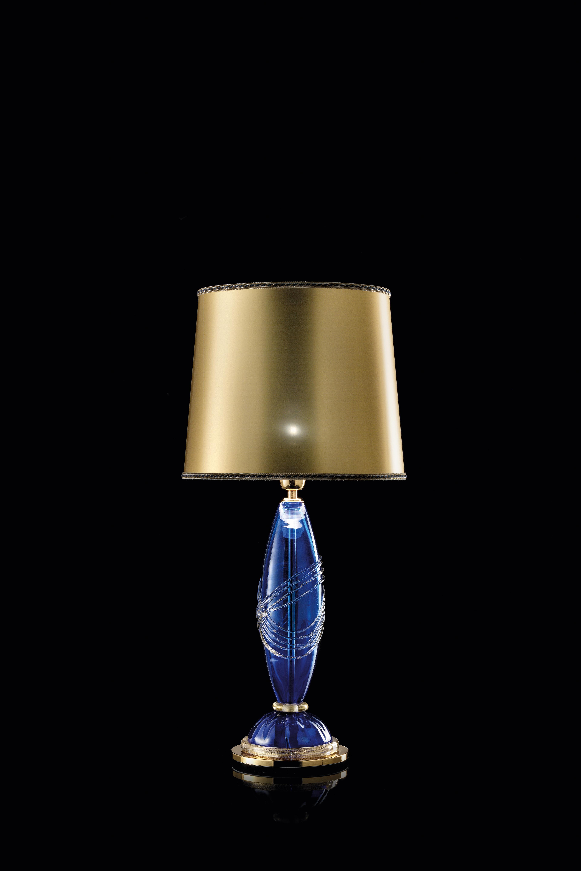 Elettra-LT blu decoro oro