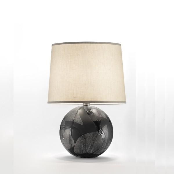 Urania-LT nero decoro argento