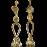 Adamo e Eva oro