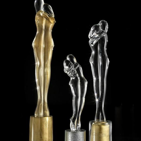 Amanti oro - trasparente base argento - trasparente base oro